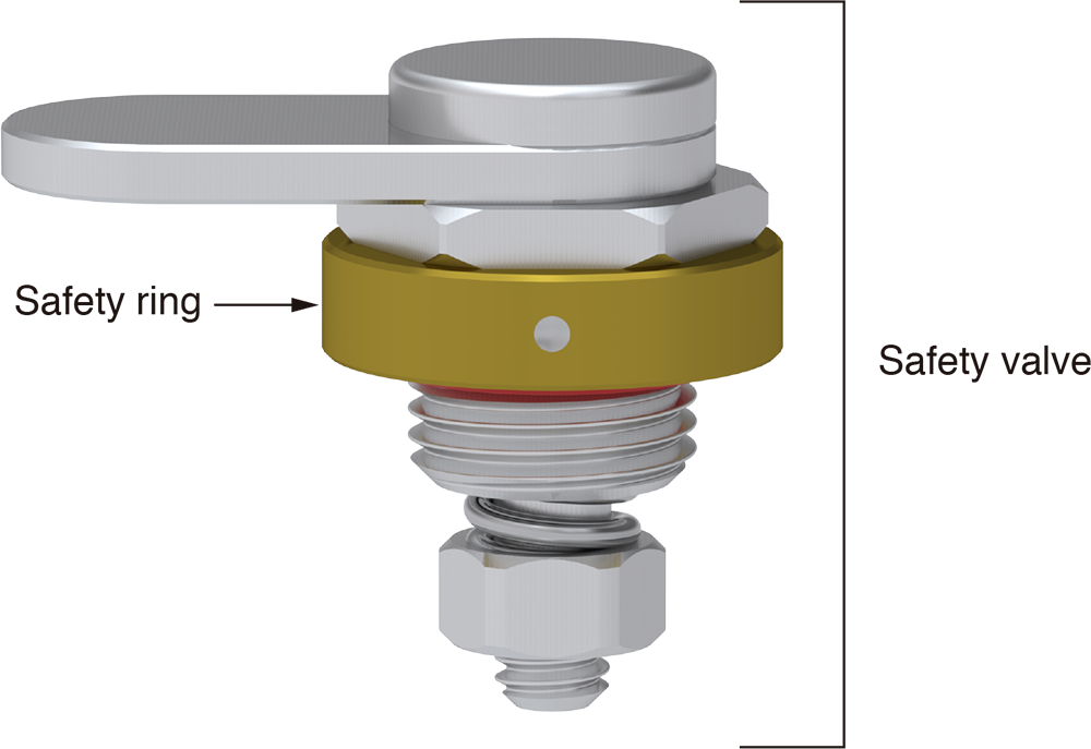 9Barista safety valve and safety ring diagram
